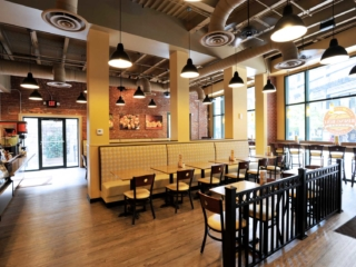 Interior Design for the Rising Roll Restaurants