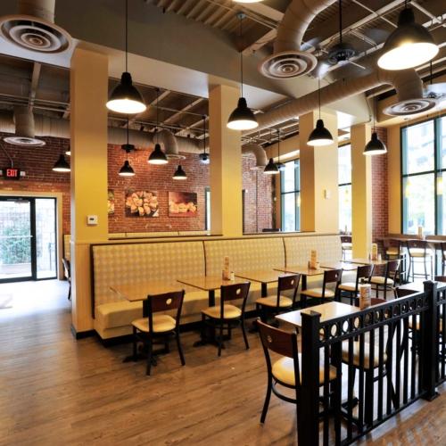 Interior Design for the Rising Roll Restaurants