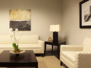 traditional commercial interior - law firm