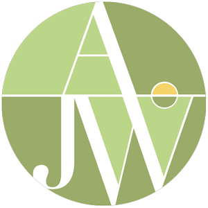 AJW Designs logo. Interior design, architecture, and design build for Roswell, Marietta, Atlanta, and Alpharetta.